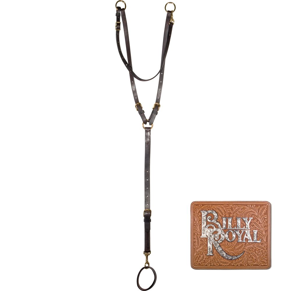 Billy Royal® Bob Hart Adjustable Training Martingale