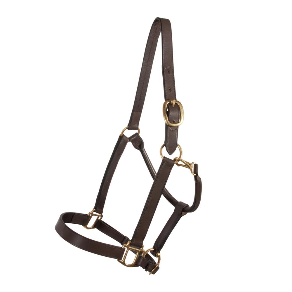Premier Kentucky Leather Halter - Yearling/Pony