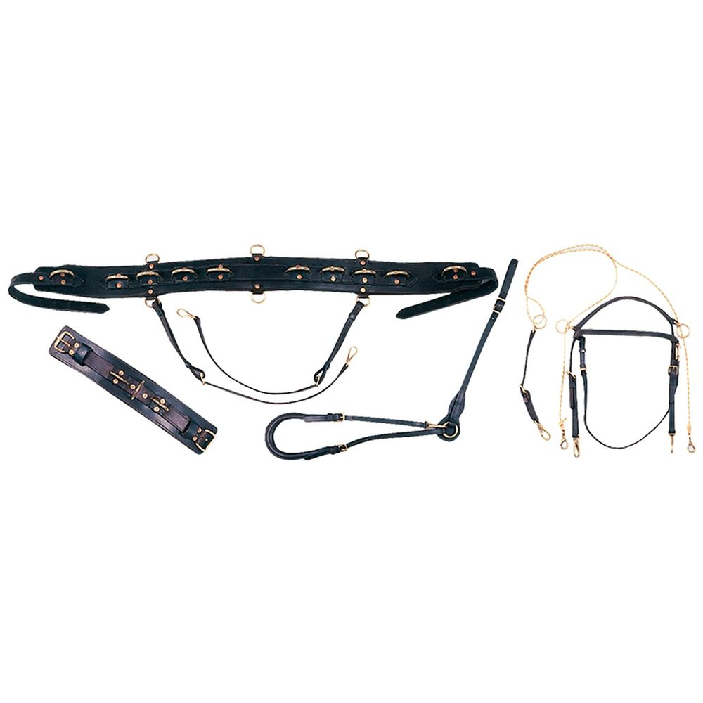 Billy Royal® Pro All Leather Bitting Harness