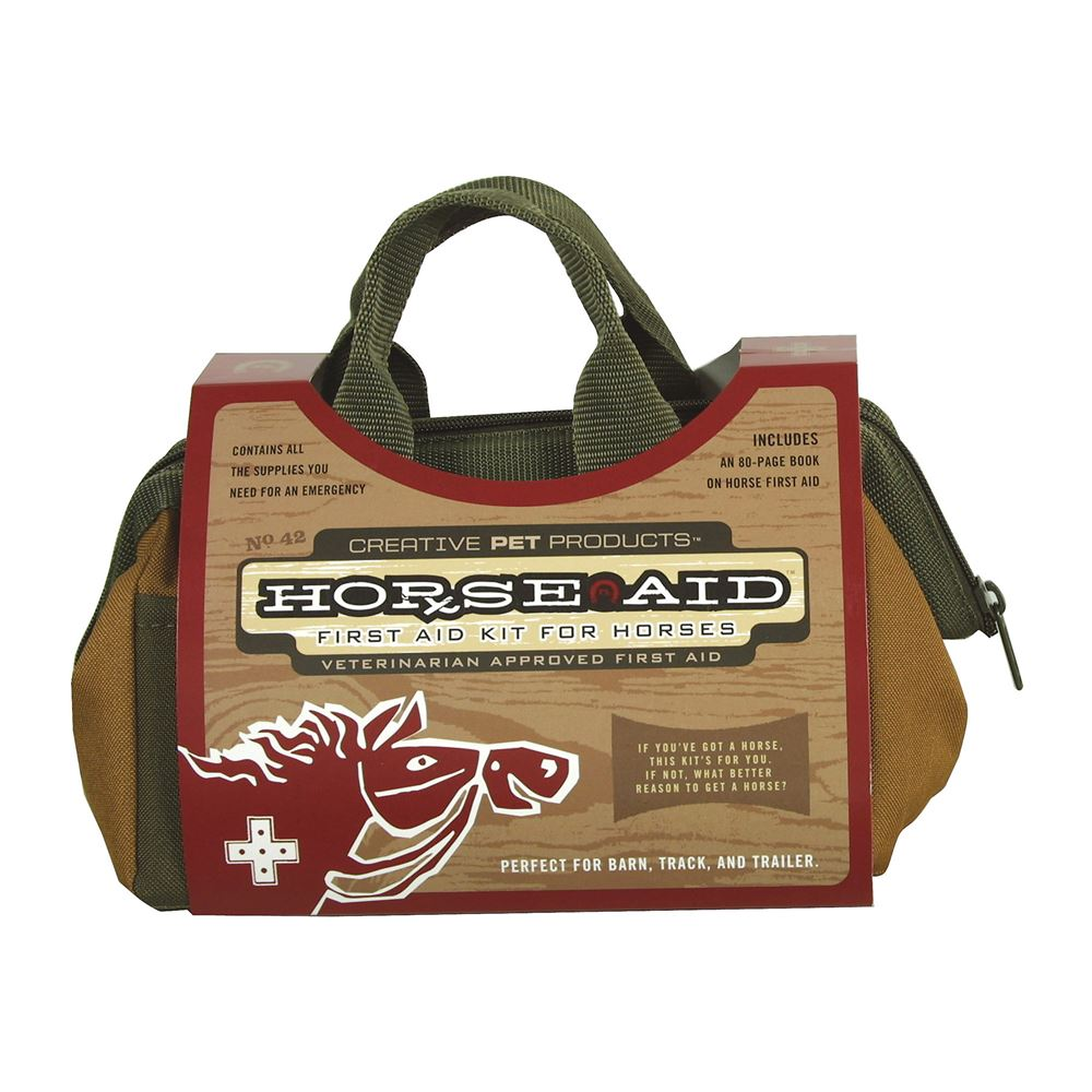Horse Aid™ Deluxe First Aid Kit