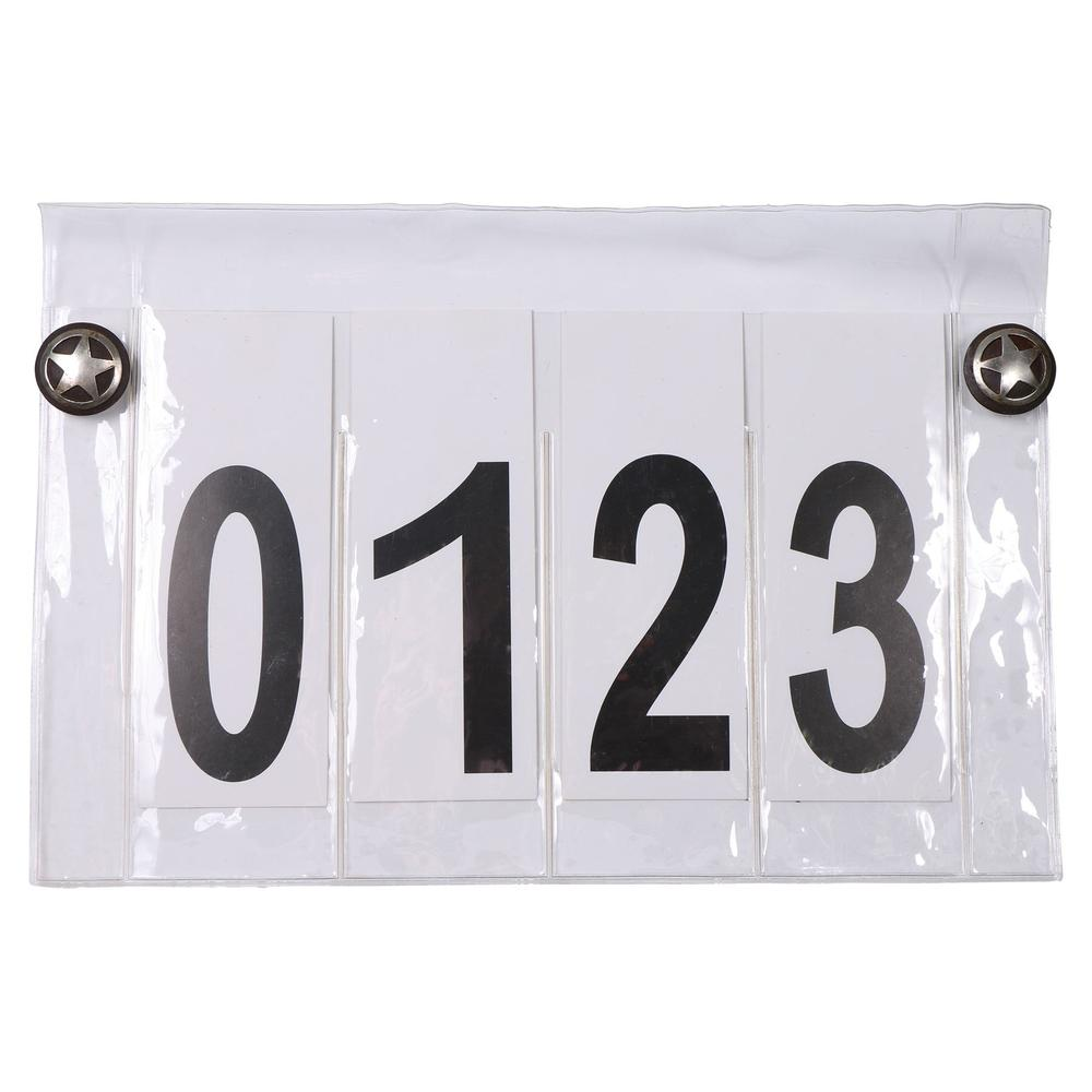 Western Competitor Number System