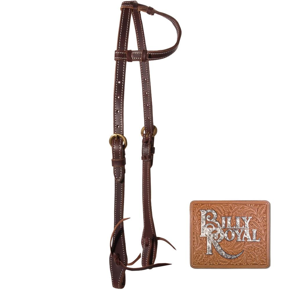 Billy Royal® Latigo One Ear Headstall