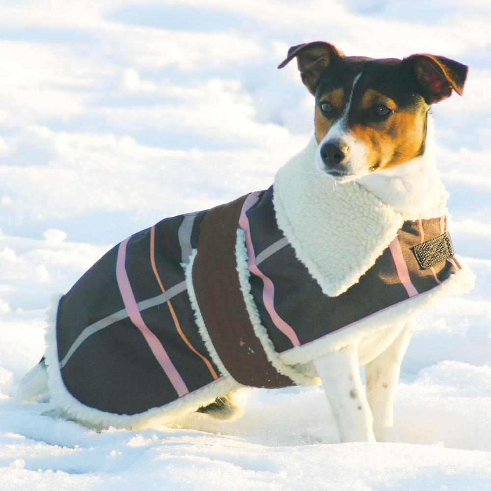 Dura-Tech® Nylon Fleece Dog Coat