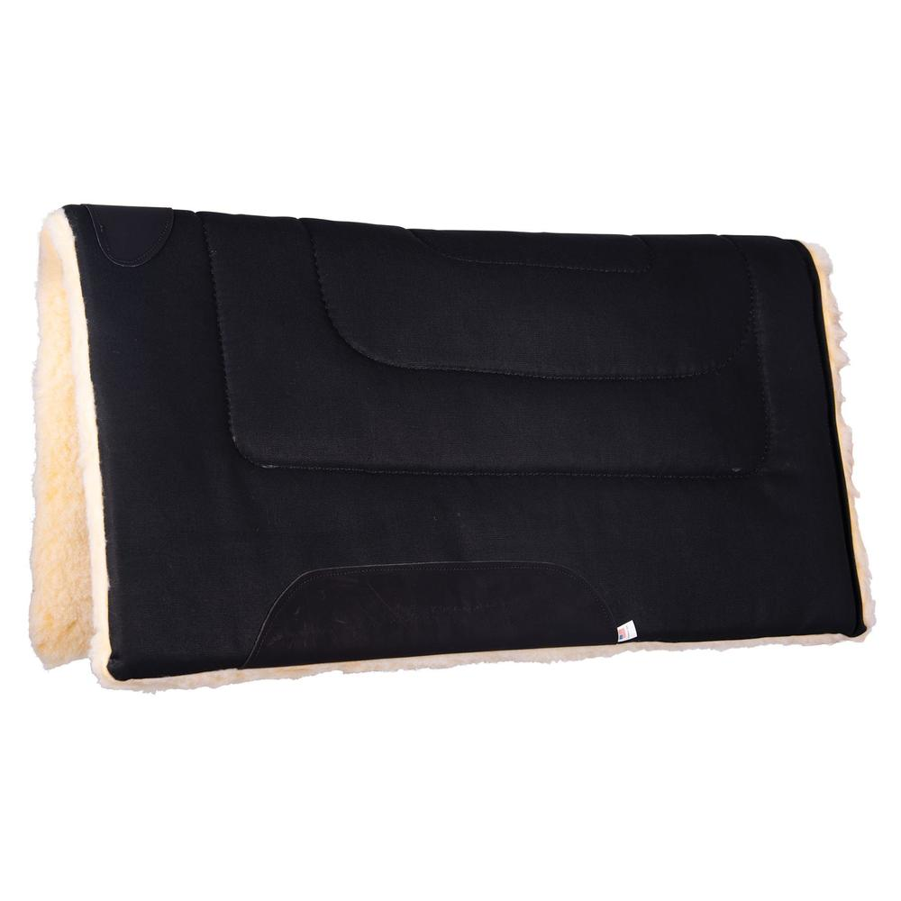 Dura-Tech® Fleece Lined Canvas Western Saddle Pad