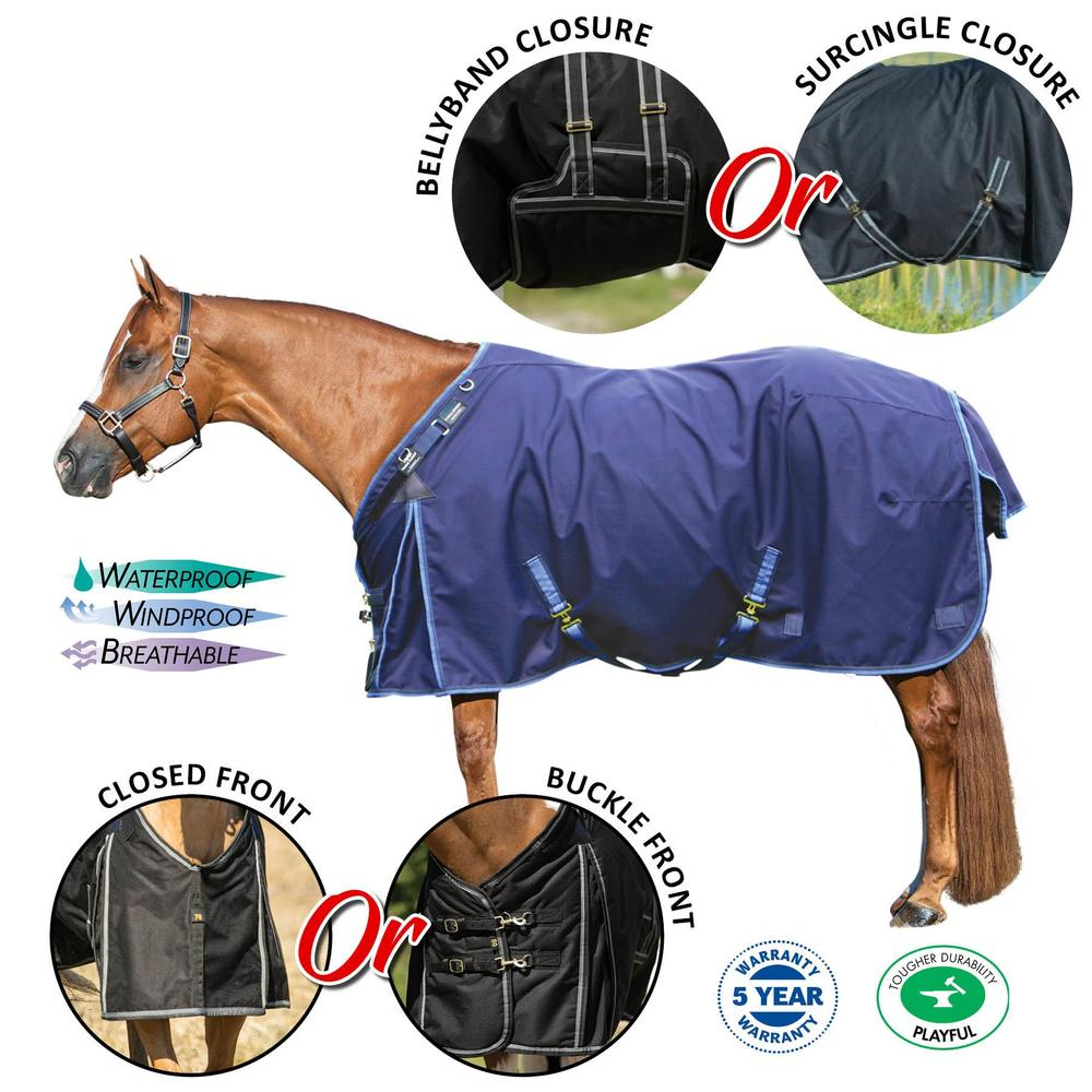 ARMORFlex® Challenger V-Free® Turnout Blankets