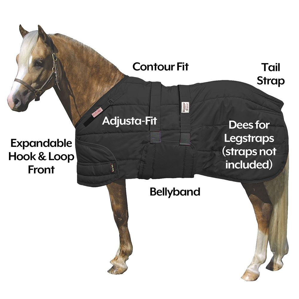 Dura-Nylon® Expandable Bellyband Pony/XL Foal Stable Blanket