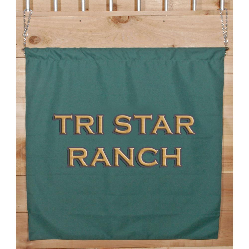 Dura-Tech® Hanging Name Banner 3' x 3'
