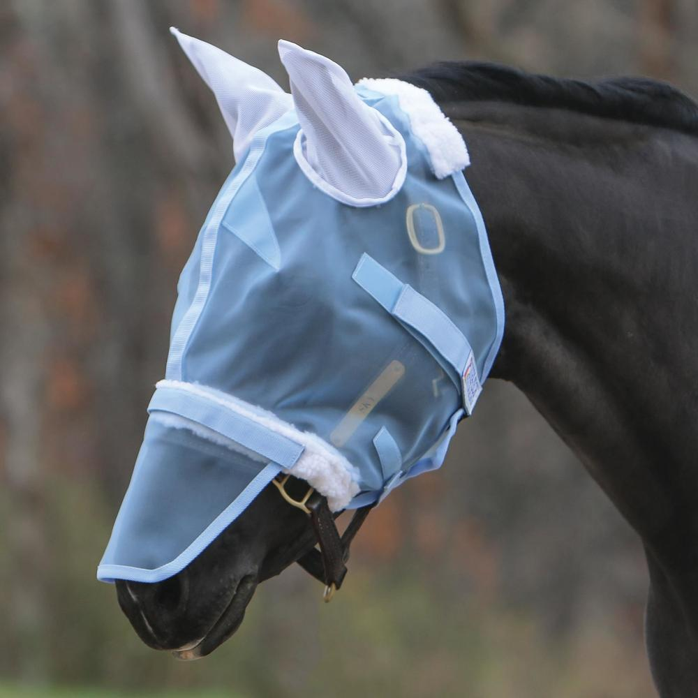Mosquito Mesh Extended Fly Mask