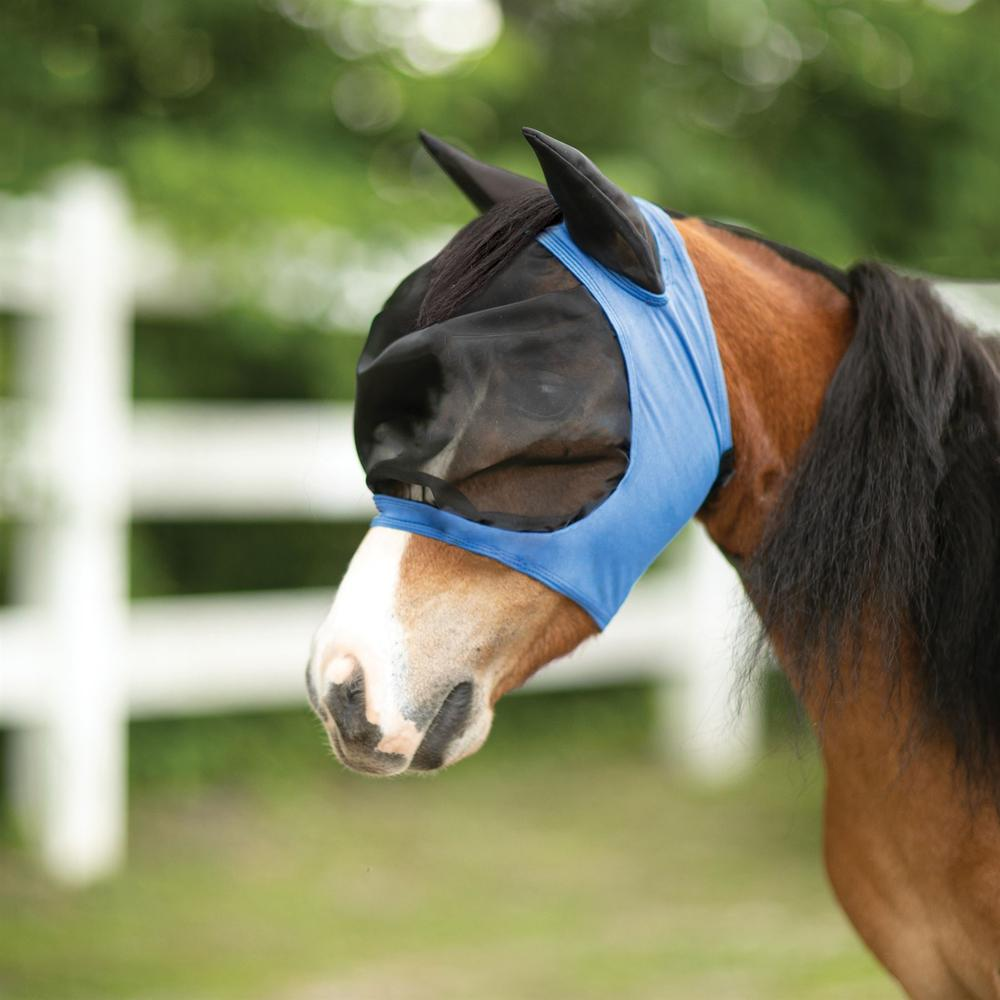 Heavy Duty Miniature Comfort Plus Fly Mask