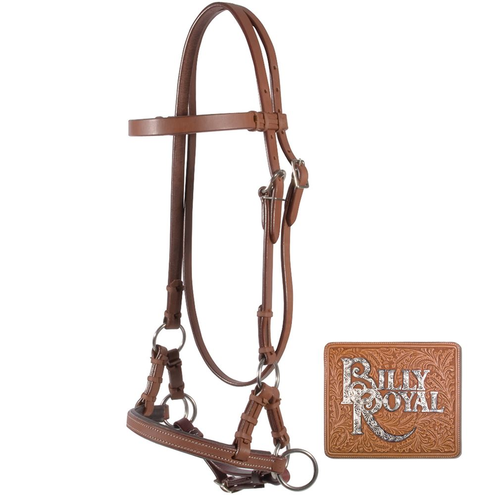 Billy Royal® Padded Nose Leather Side Pull