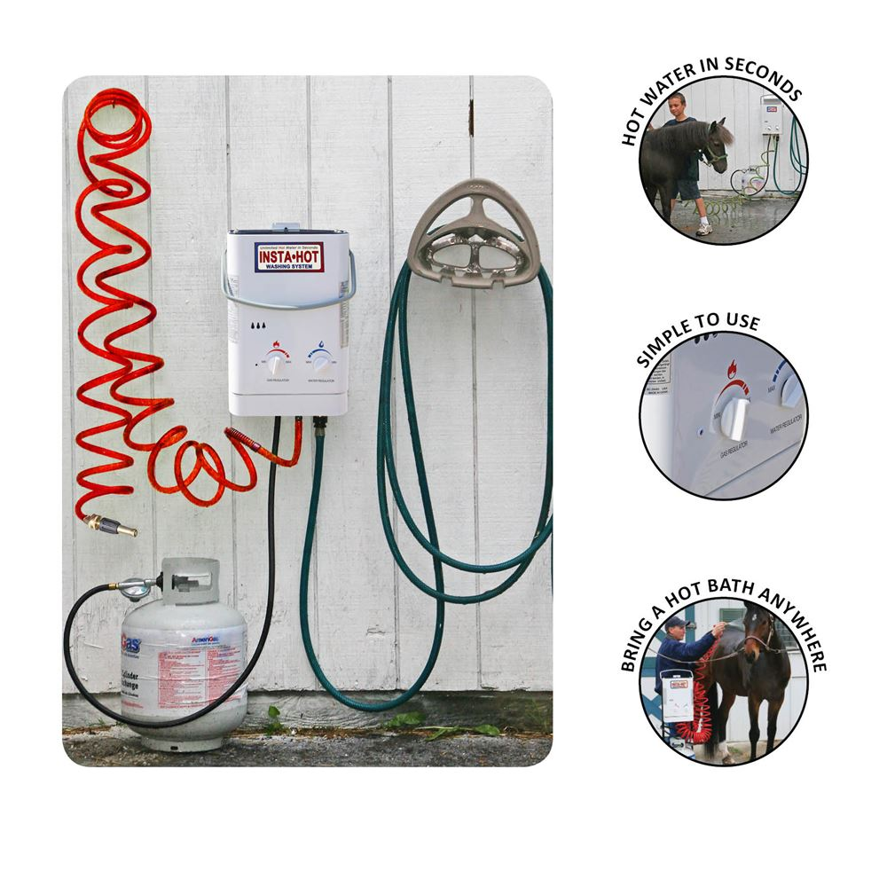 Insta-Hot® Equine Portable Washing System