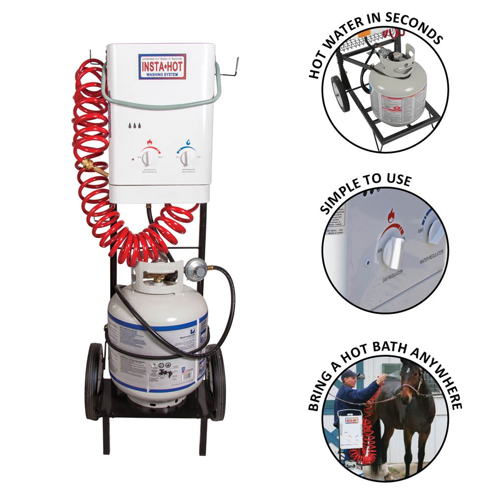 Insta-Hot® Portable Equine Washing System