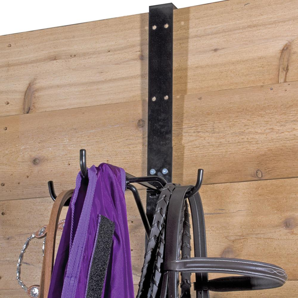 Easy-Up® Fold Down Three Hook Tack Rack