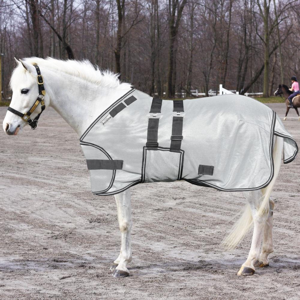 Interlock Mesh Expandable Pony / XL Foal Fly Sheet