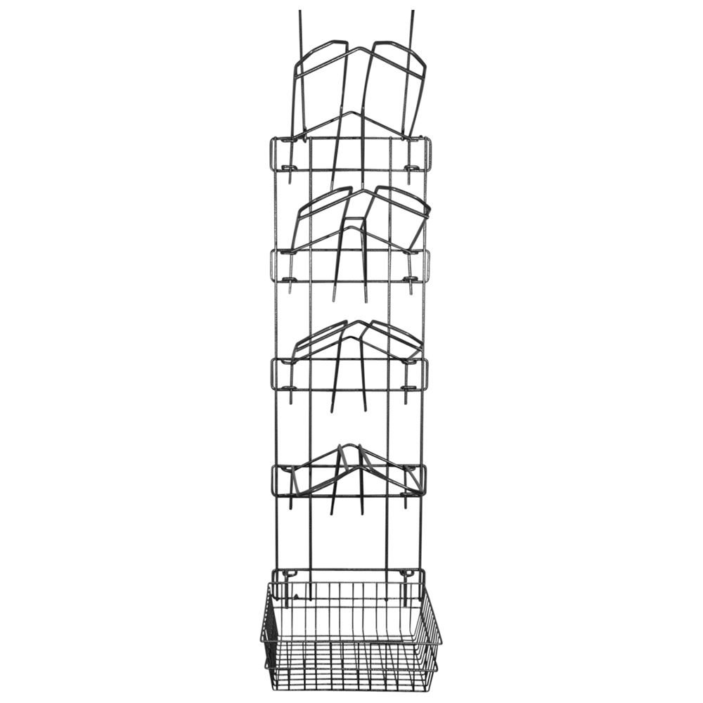Easy-Up® Pro 5 Tier Frame with 4 Saddle Rack & Basket