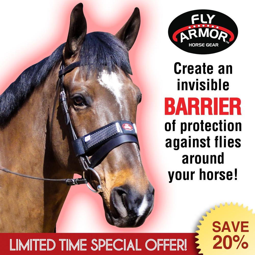 Fly Armor™ Repellent Xtra-Strength Noseband