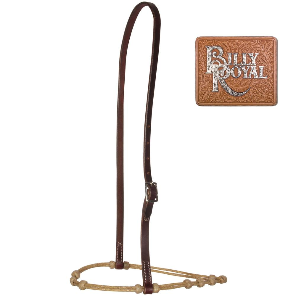 Billy Royal® Adjustable Double Strand Rawhide Caveson