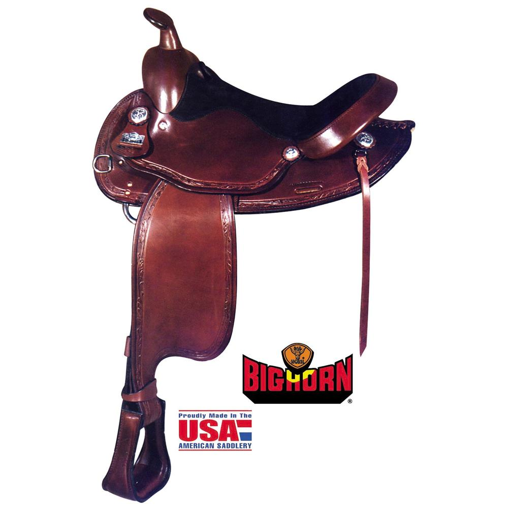 Big Horn with Haflinger Design Bars Trail Saddle