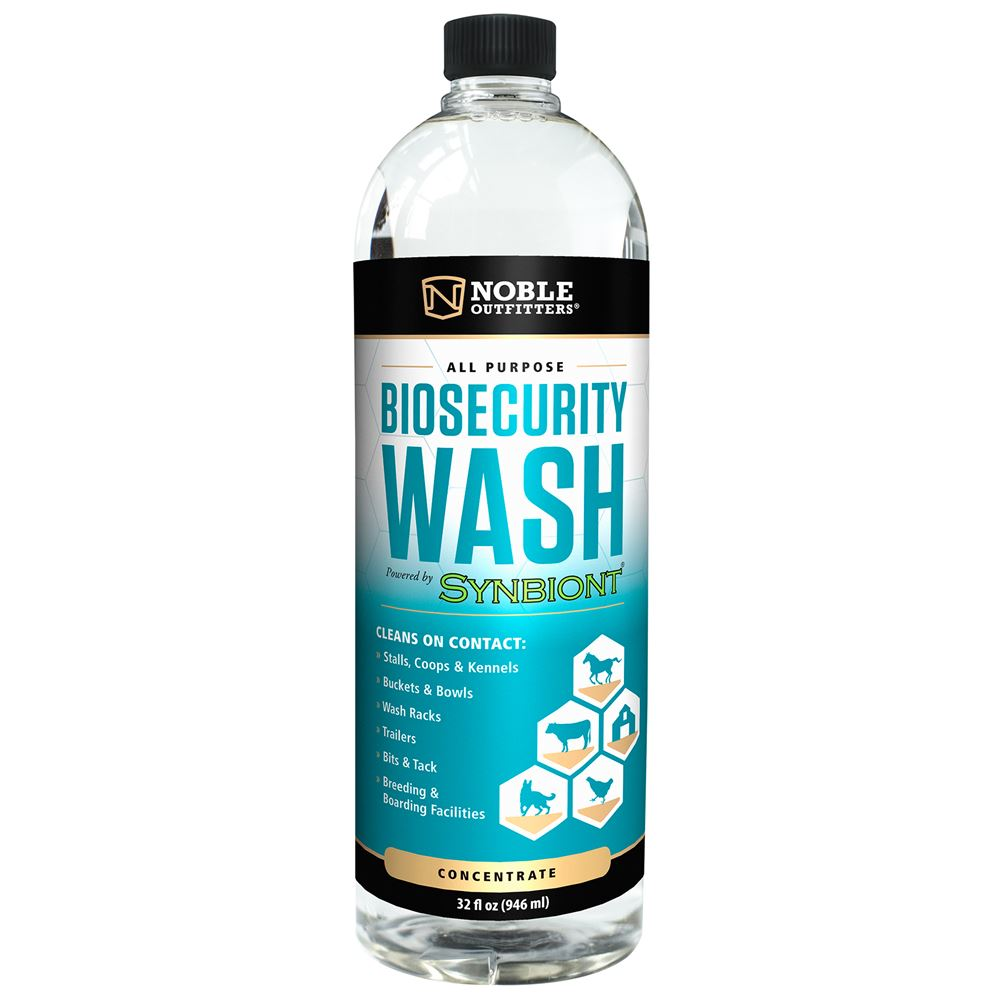 Noble Outfitters® Biosecurity Wash 32oz Concentrate