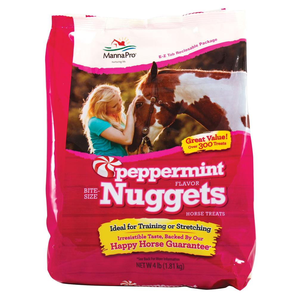 MannaPro Bite Sized Peppermint Nuggets