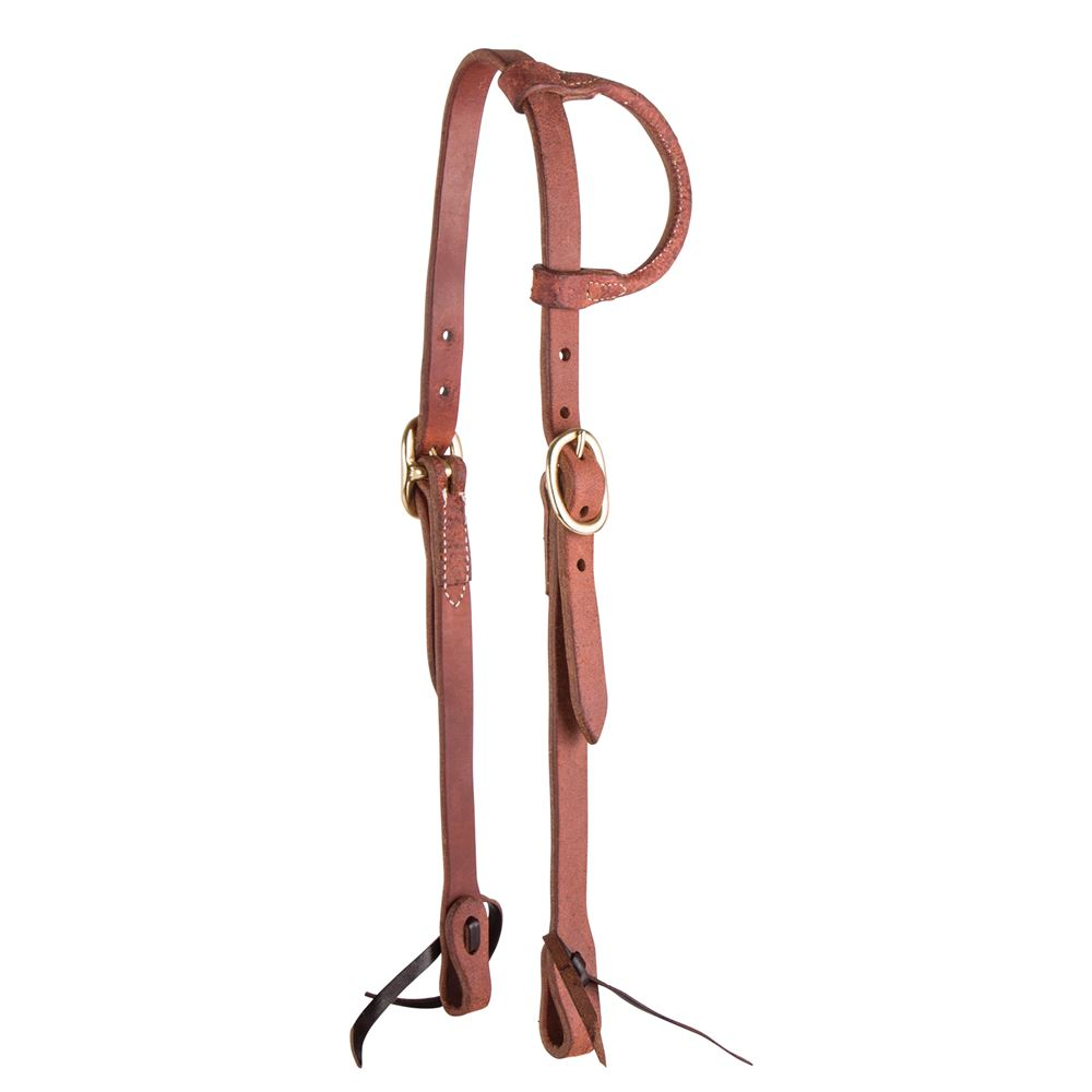 Billy Royal® Oiled Roughout Ranch Work Headstall