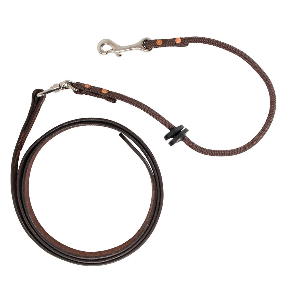 Schutz Brothers Lip Cord Leather Lead