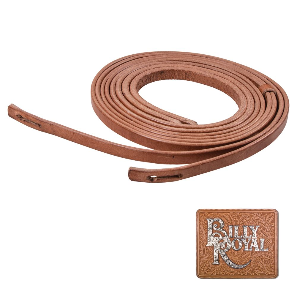 Billy Royal® Hermann Oak Leather Slot End Reins