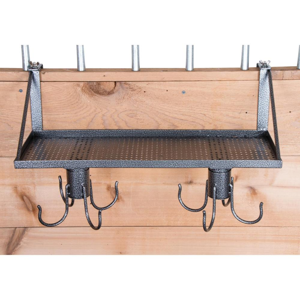 Easy-Up® Pro Series Shelf with Swivel Tack Hooks