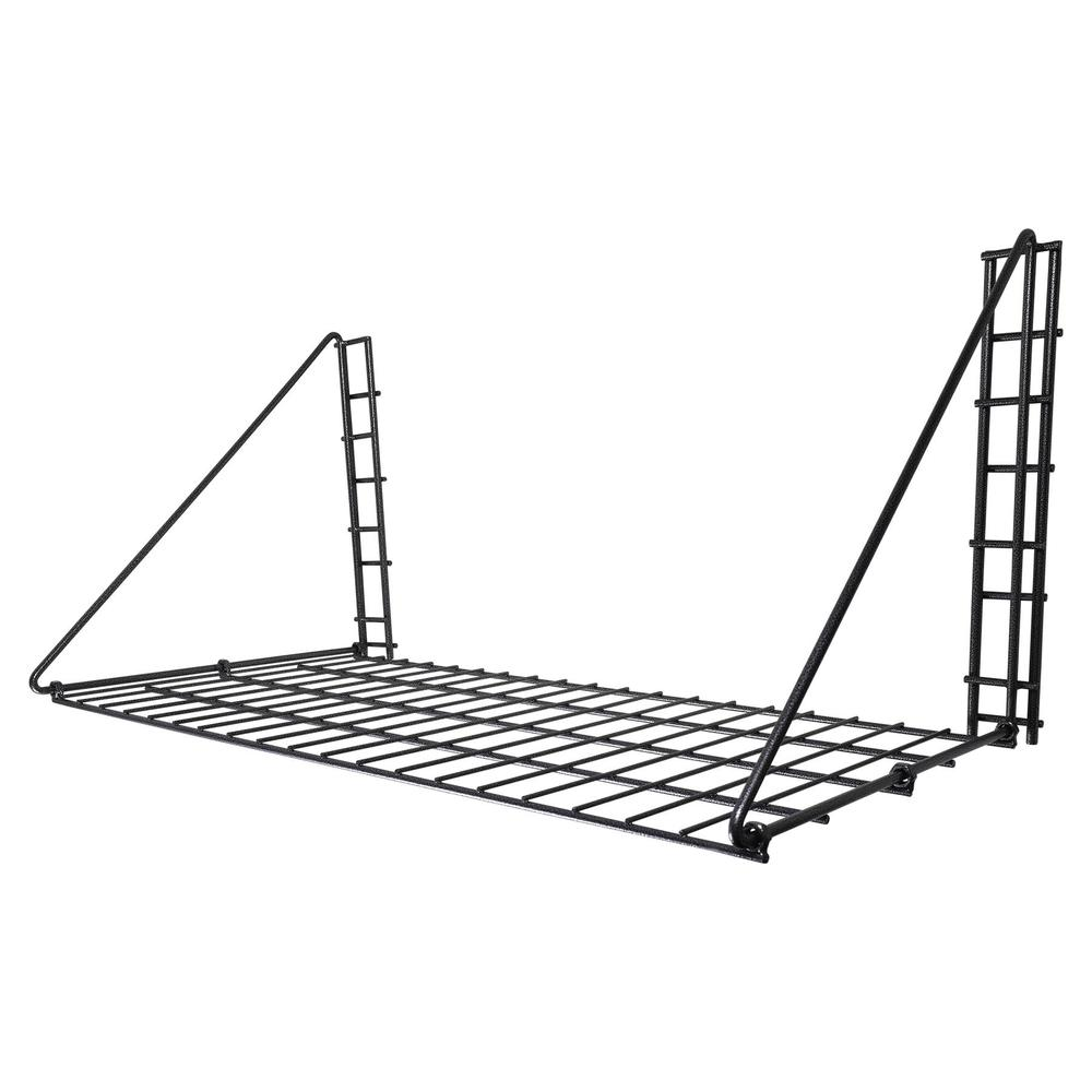 Easy-Up® Pro Series Fold Up Hanging Shelf with Adjustable Hangers