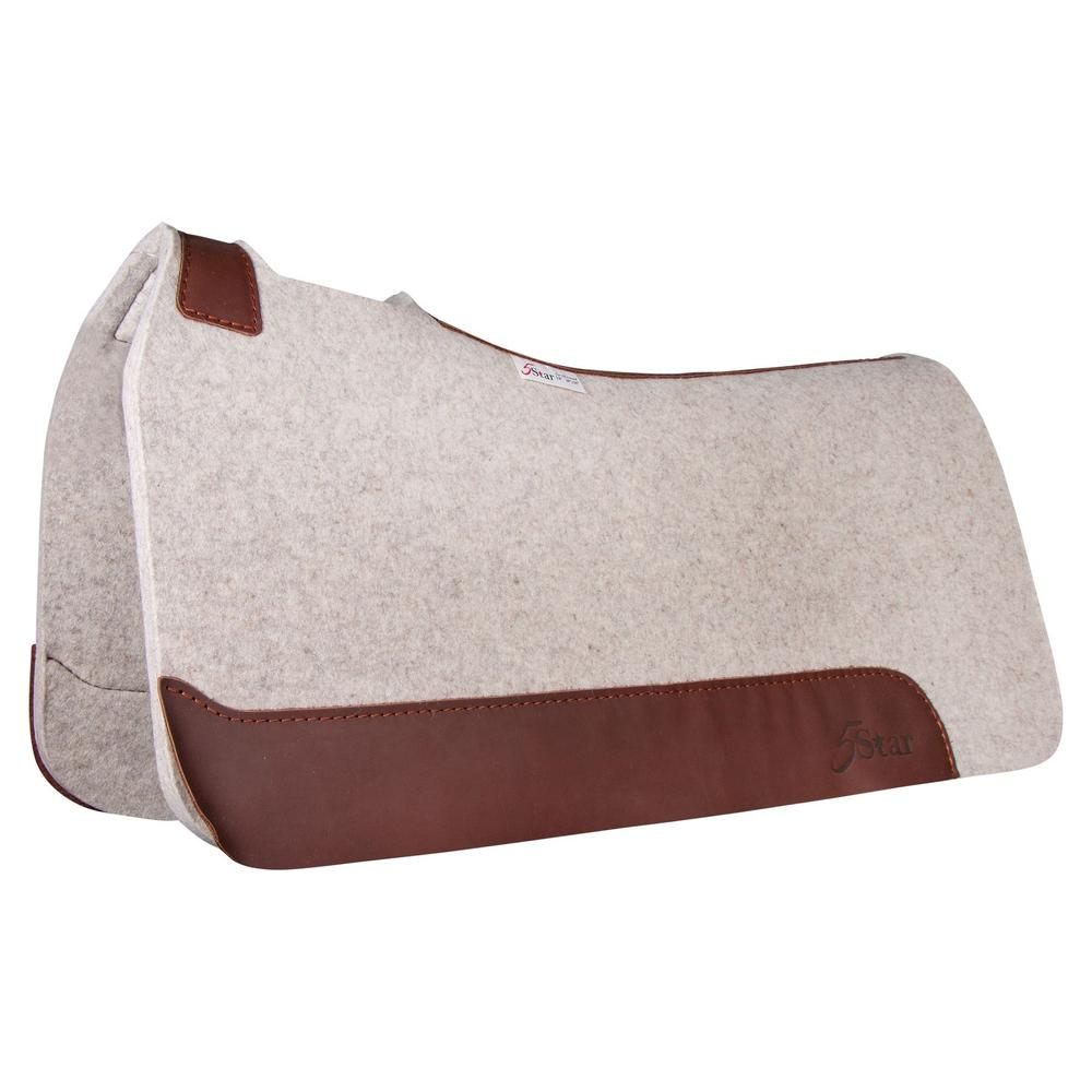 "5 Star All Around 3/4"" Western Saddle Pad 30""x30"""