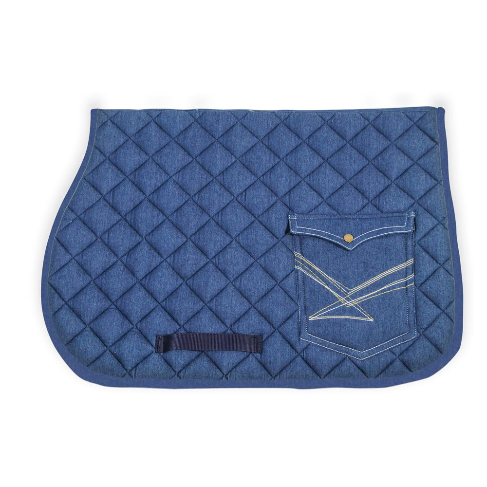 Dura-Tech® Denim Pocket Saddle Pad - All Purpose