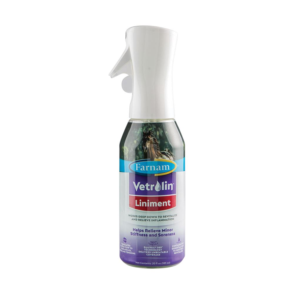 Farnam® Vetrolin® Liniment Equiveil™ 360� Sprayer
