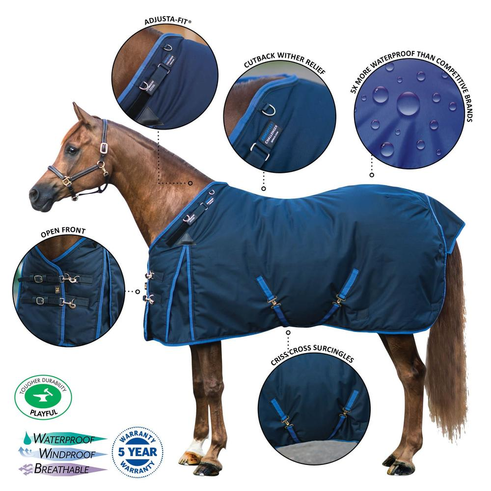 ARMORFlex® Challenger Cutback Turnout Blankets
