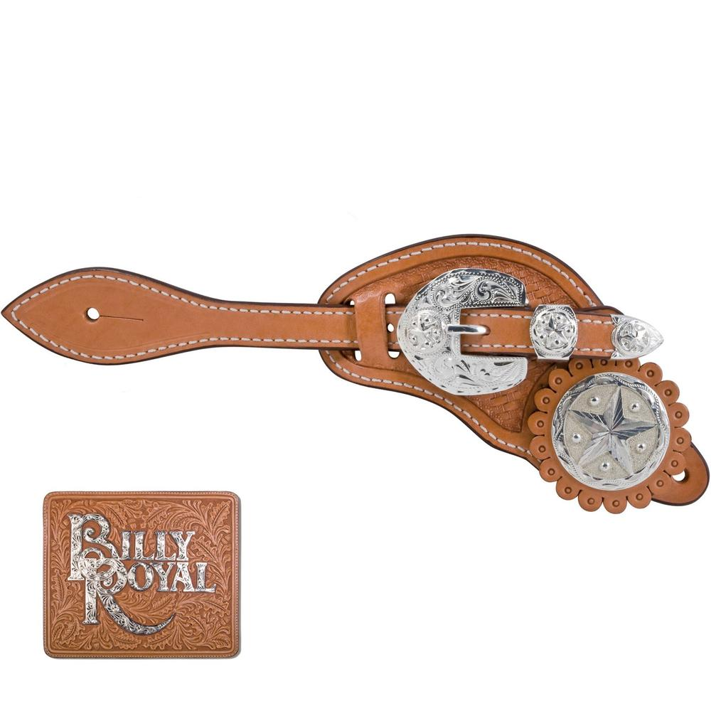 Billy Royal® Star Concho Spur Strap