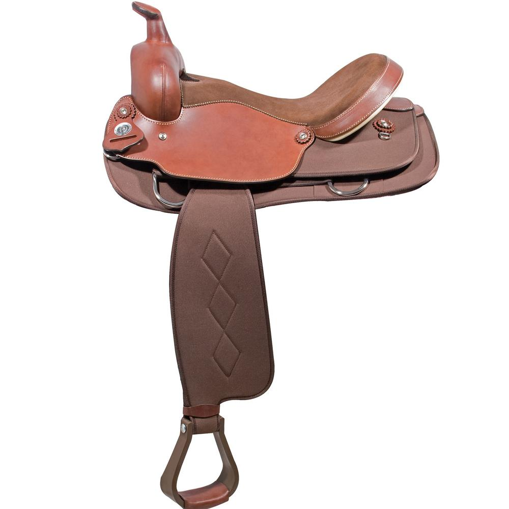 Circle P Cordura Leather Saddle