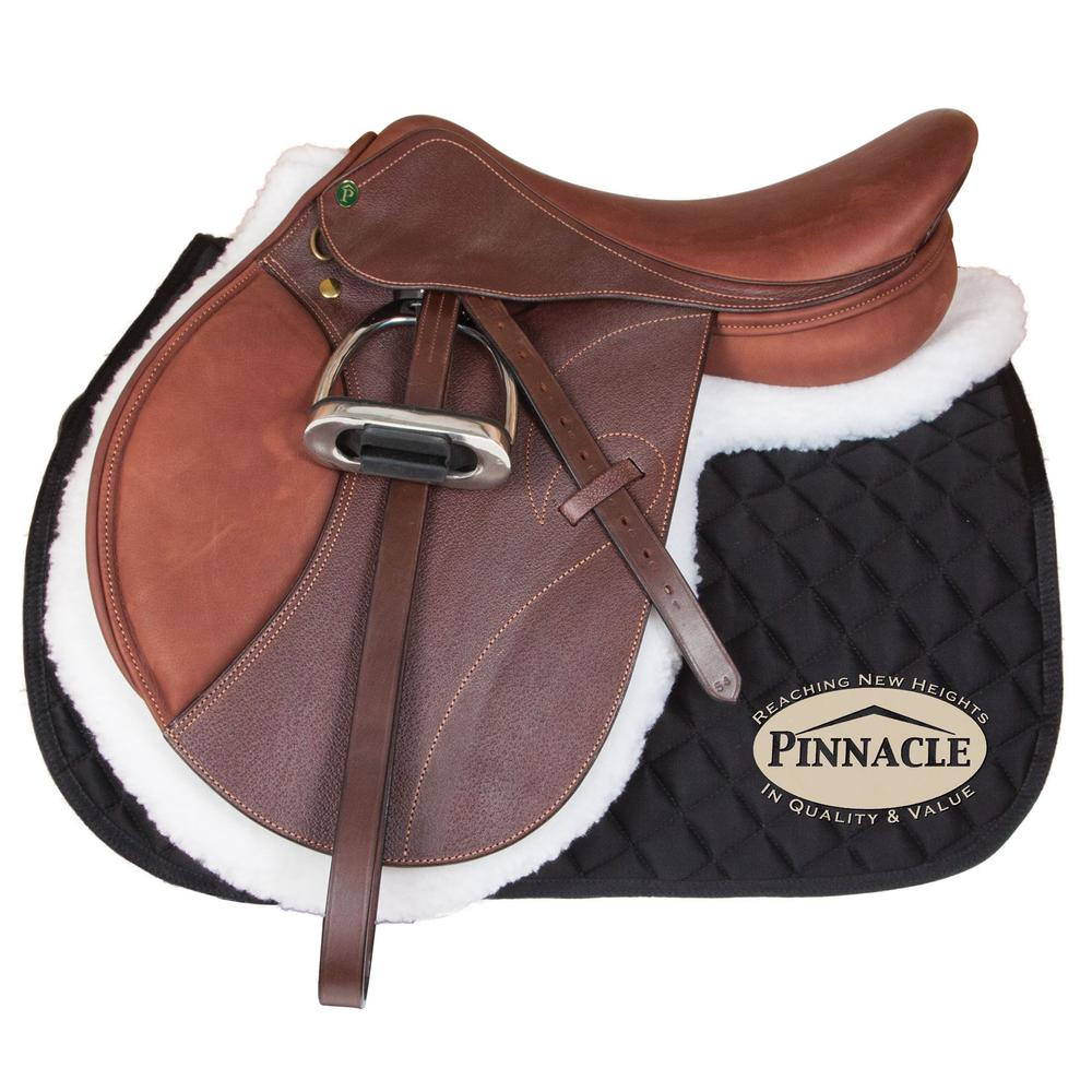 Pinnacle Kirkby Close Contact Saddle with Long Flap