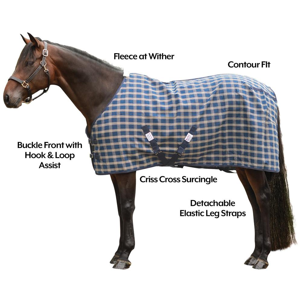 Dura-Tech® Ripstop Poly Plaid Stable Sheet