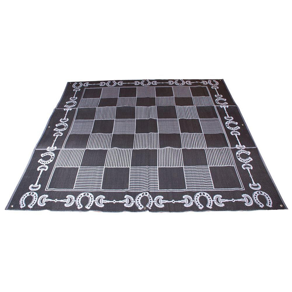Stall Set-Up Mat - Horse Design 9'x9'
