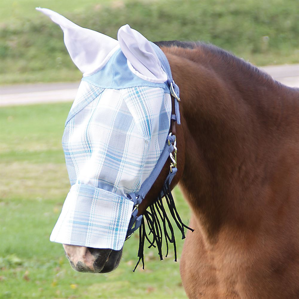 Dura-Mesh Fly Mask with Halter Combo