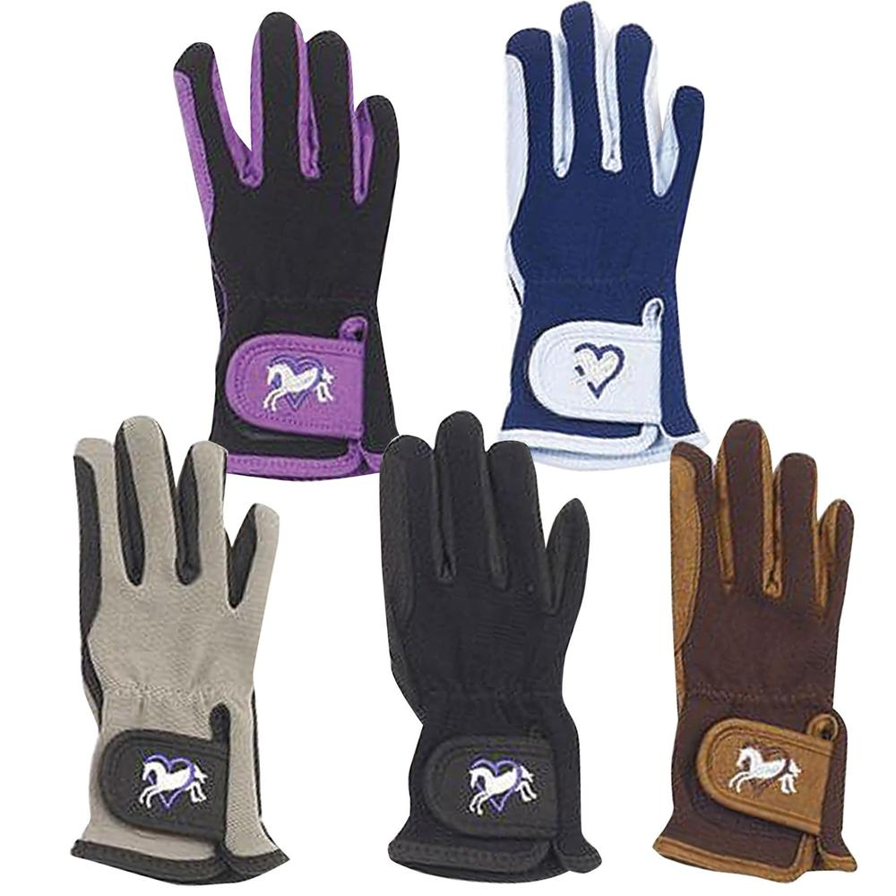 Ovation Childrens Heart & Horse Gloves