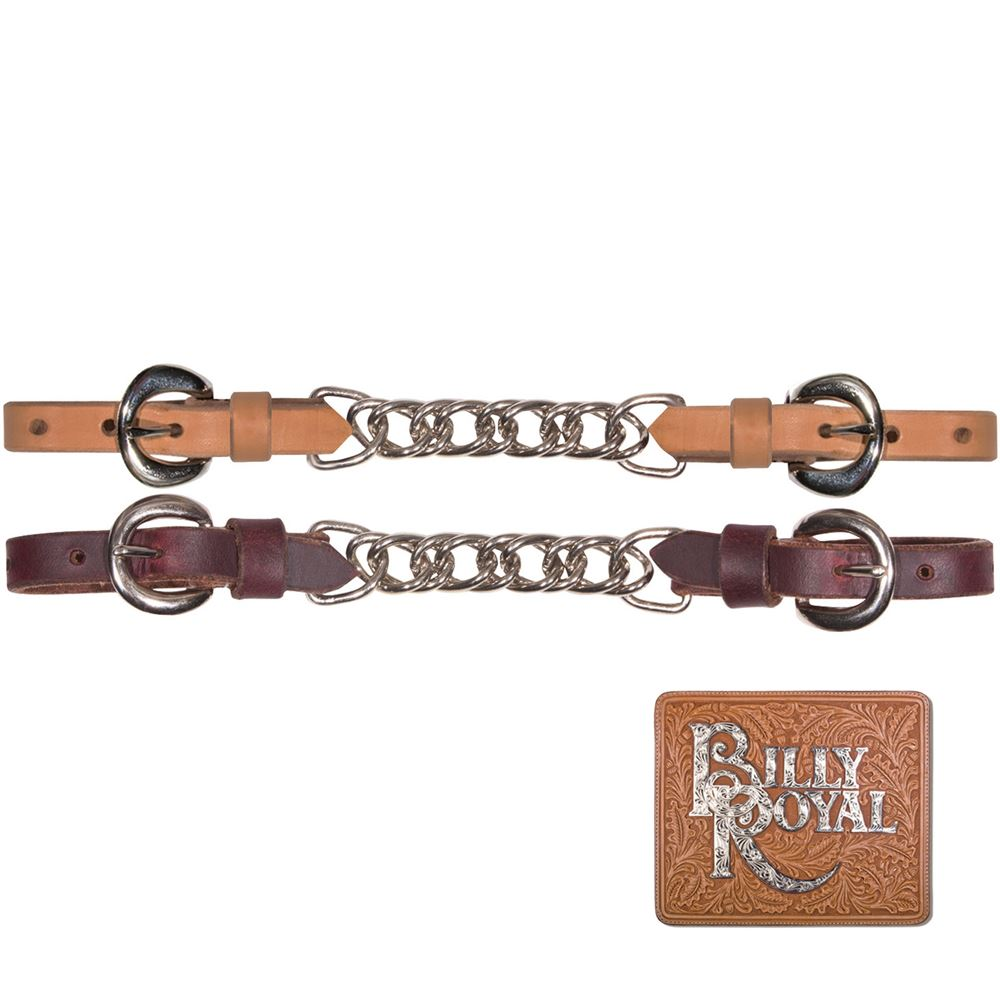 Billy Royal® Harness Leather Curb Chain