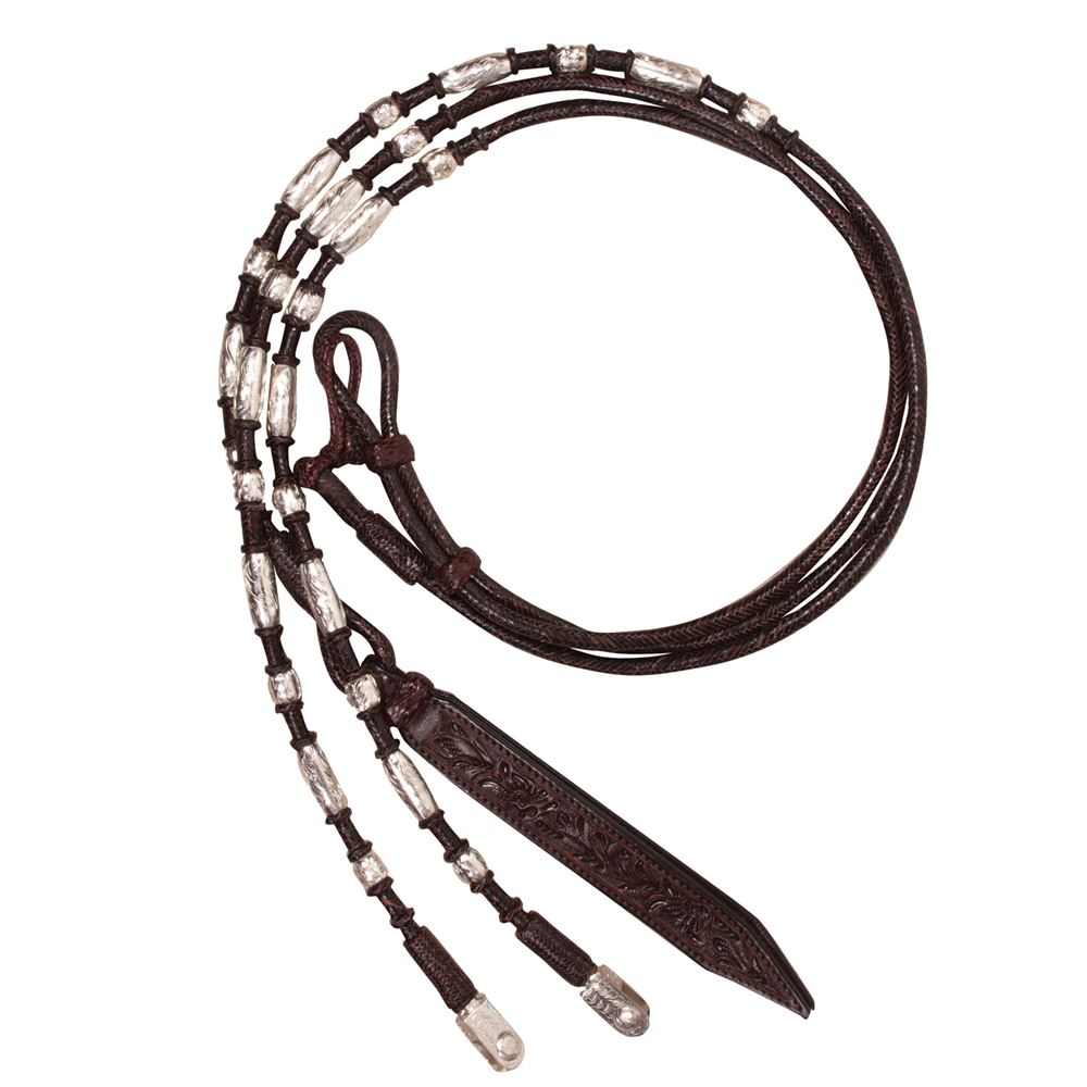 Double S Silver Plate Direct Contact Romel Reins
