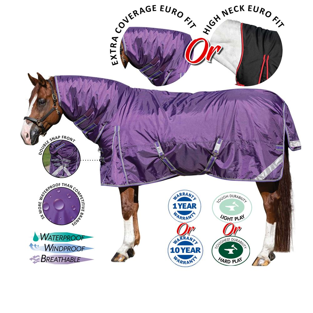 Stormshield® Extra Coverage Turnout Blankets