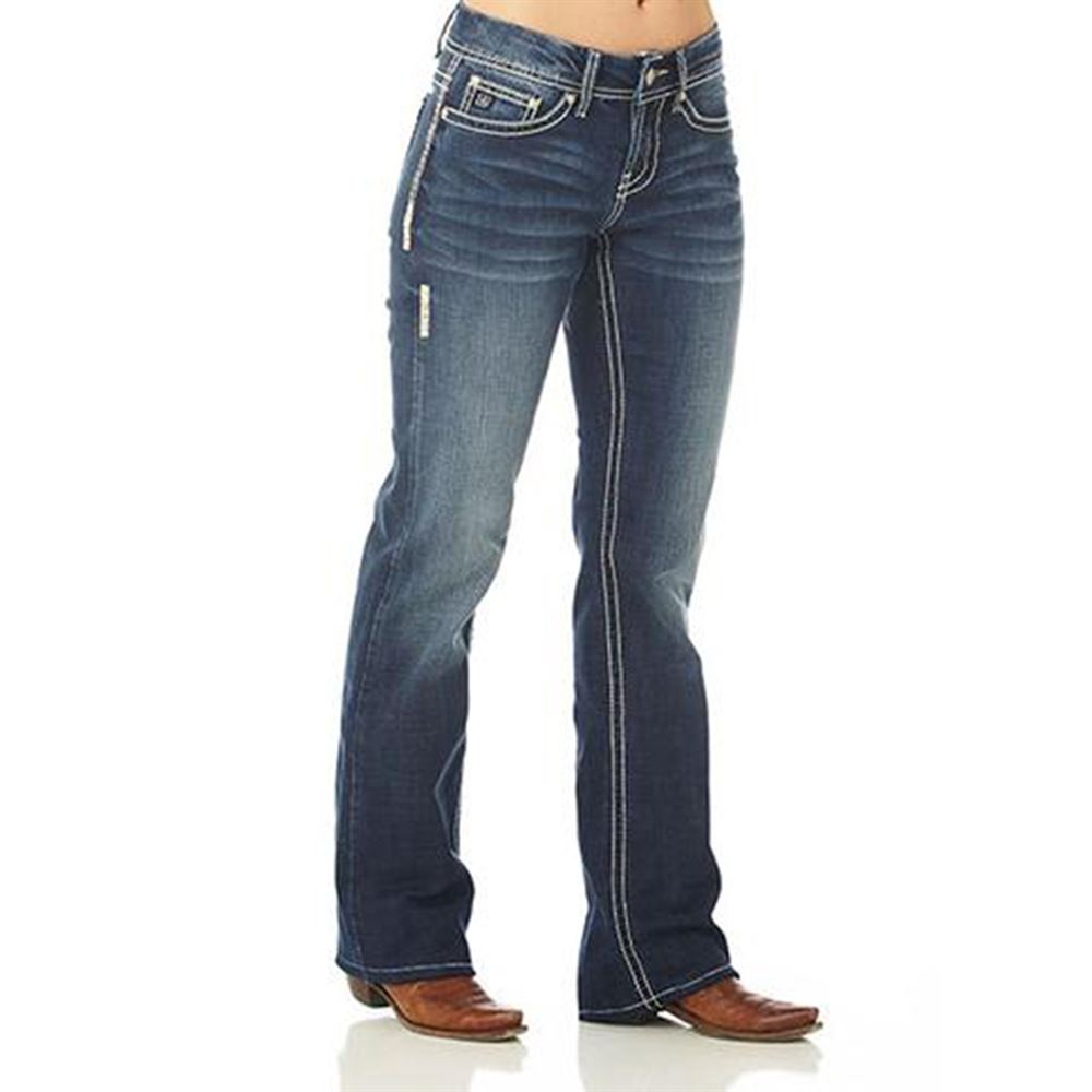 Cowgirl Up Ladies Basic Jeans