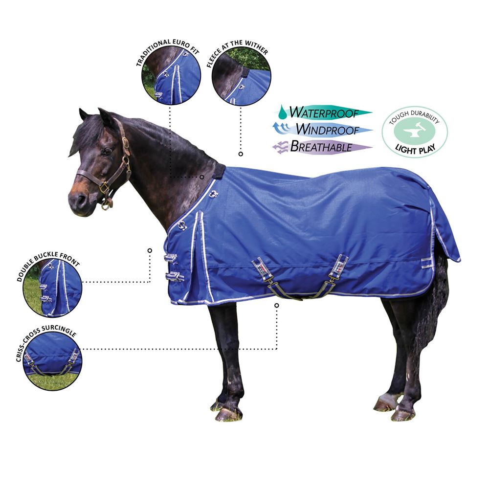 Dura-Tech® VIKING Solid Pony Turnouts
