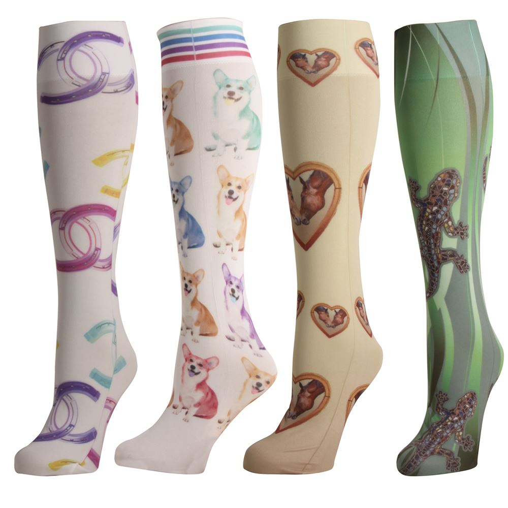 Ink Stable Knee Hi Socks