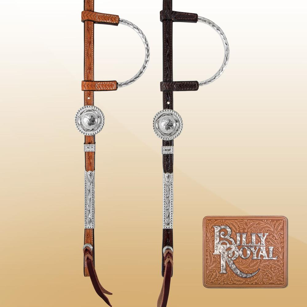 Billy Royal® Texas Classic Two Ear Headstall
