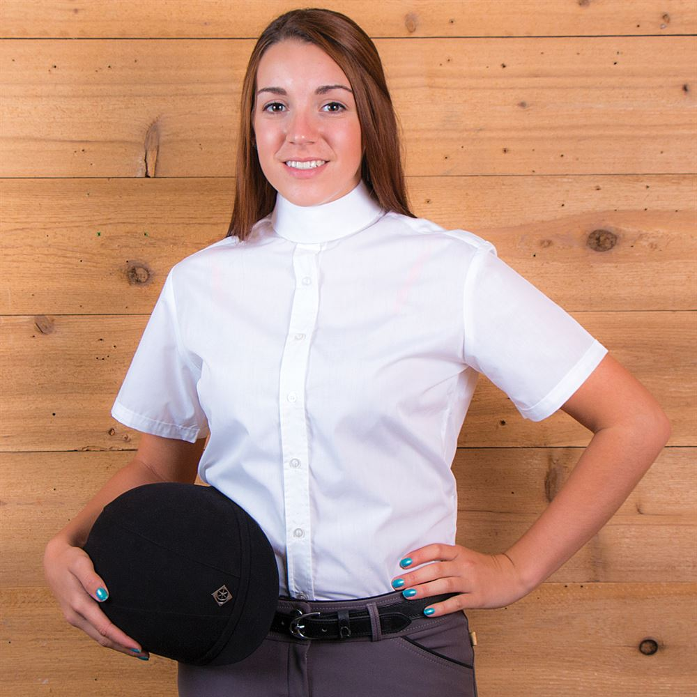 Devon-Aire Ladies Concour Short Sleeve Show Shirt