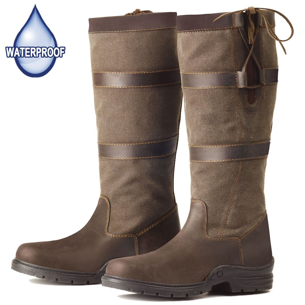 Ovation Ladies Aileen Brown Country Boot