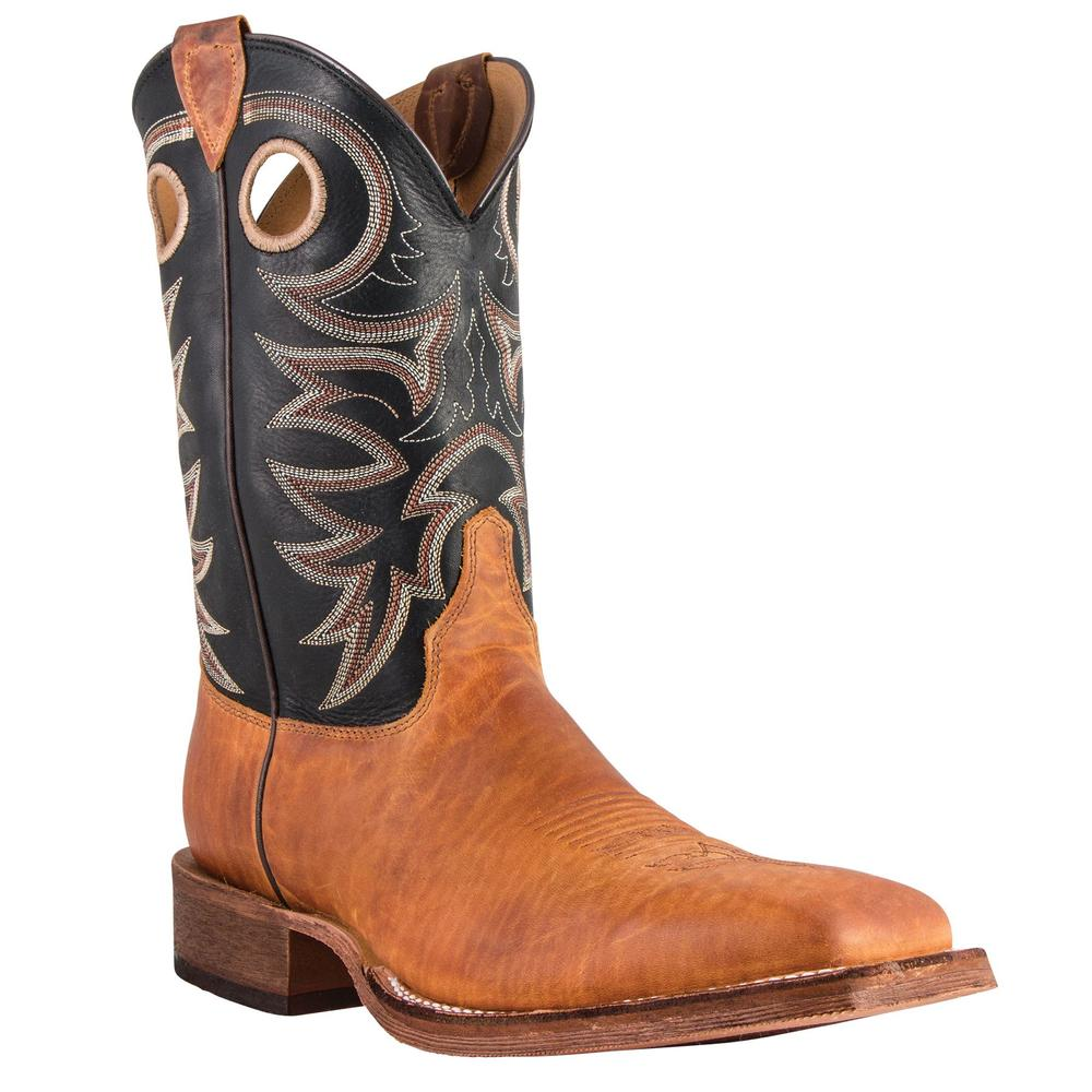 Justin® Men's Tobacco Cowhide Bent Rail Boots